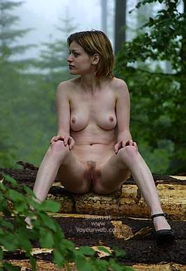 Pic #8 - Csilla In The Romanian Wood 3