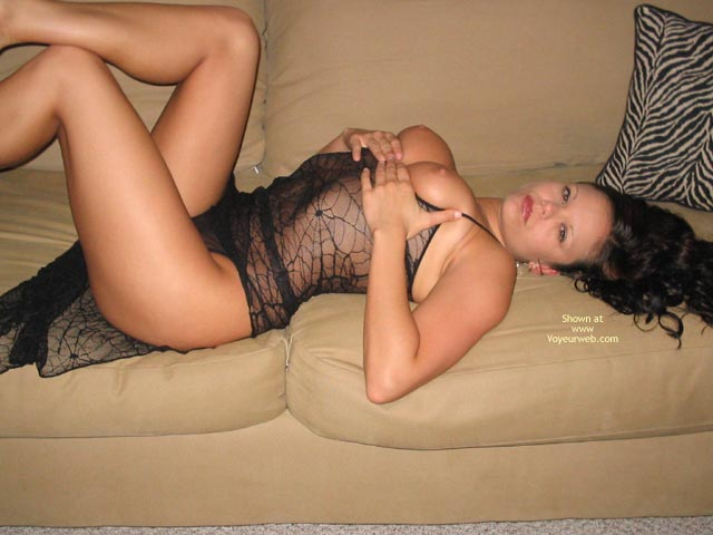 Pic #1 - Showing On The Couch - On The Couch , Showing On The Couch, Brunett On The Couch, Tits On A Couch, Spider Net On Couch, Hands Cupping Breasts