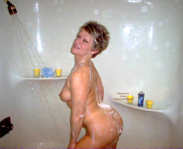 Pic #4 - Angelique In The Shower