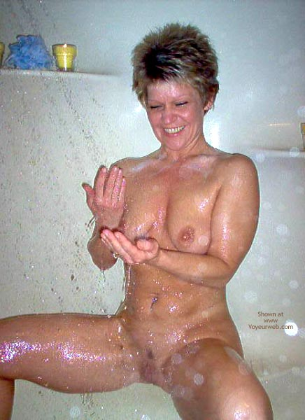 Pic #6 - Angelique In The Shower
