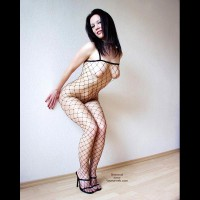 Up Against The Wall - Bend Over, Black Hair, Heels