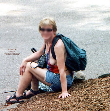 Pic #6 - Bridget In A Haltertop And Shorts