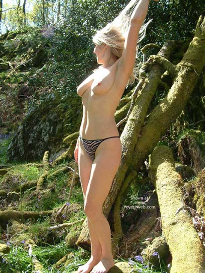 Pic #3 - Annette In The Woods