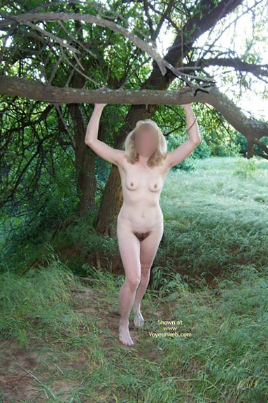 Pic #2 - Natural Wife In Meadow