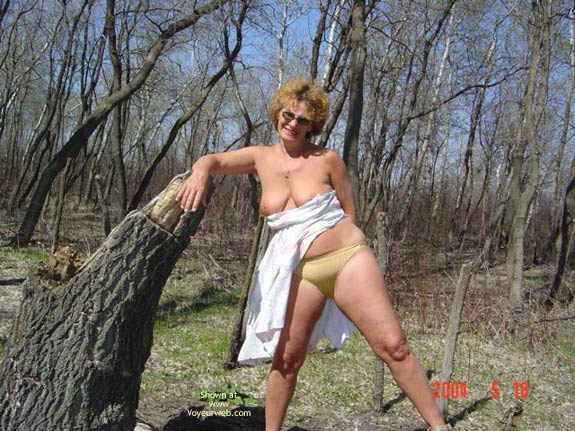 Pic #3 - 57 Year Old Canadian Wife Outdoors