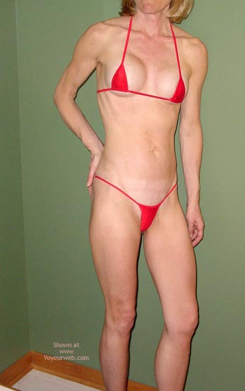 Pic #1 - Red String Bikini