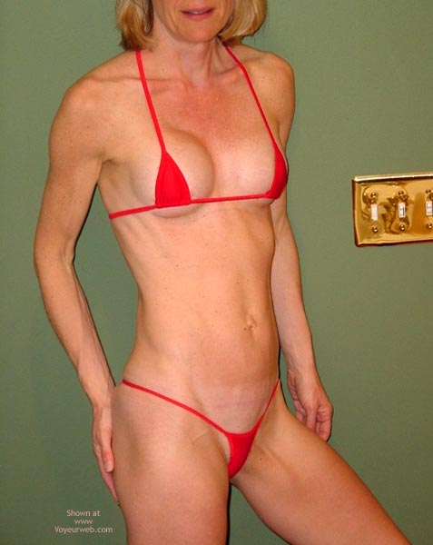 Pic #2 - Red String Bikini