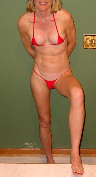 Pic #3 - Red String Bikini