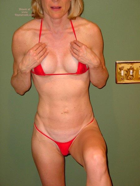 Pic #4 - Red String Bikini