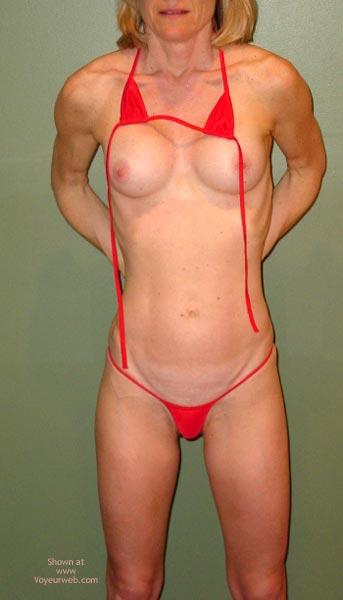 Pic #5 - Red String Bikini