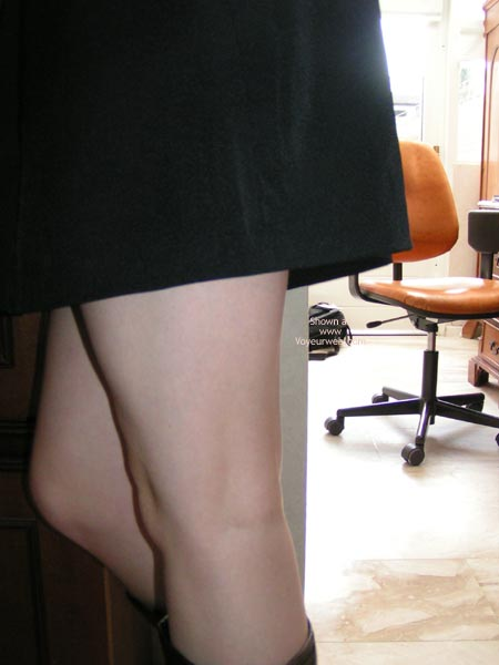Pic #1 - Cute Dutch Girl In And Out Of Short Skirt!