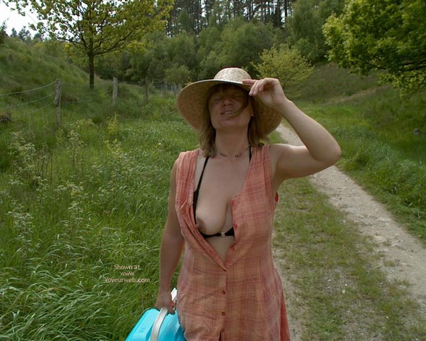 Pic #3 - Mette On Picnic