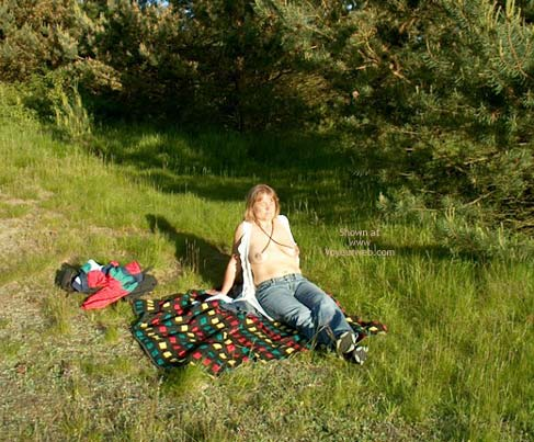 Pic #8 - Mette On Picnic