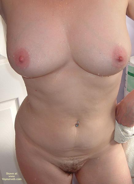 Pic #9 - Shy Susan Takes A Shower