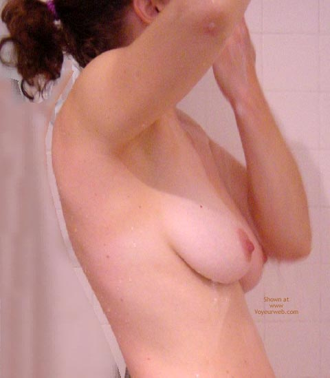 Pic #6 - Turning Forty Taking A Shower