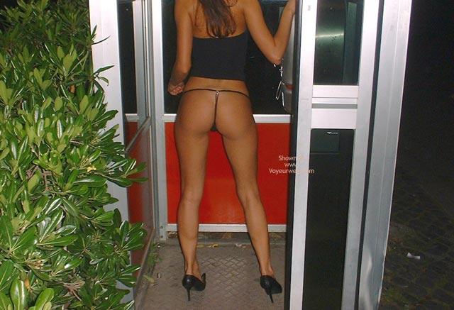 Pic #8 - Alessiaroma Nella Cabina Telefonica