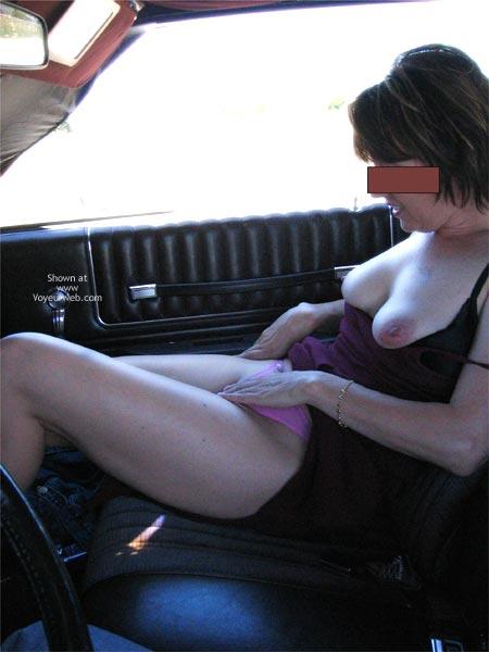 Pic #3 - Briar Rose Teasing In The Car