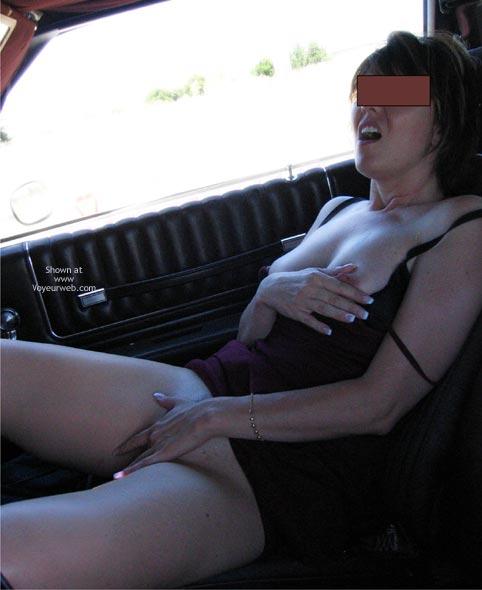 Pic #6 - Briar Rose Teasing In The Car