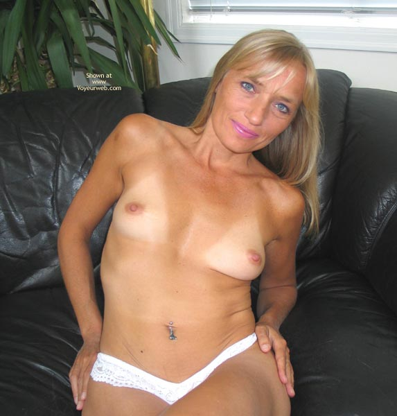 Pic #1 - Blue Eyes - Blue Eyes, Long Hair, Small Tits, Tan Lines, Sexy Panties , Blue Eyes, Long Blonde Hair, White Panties, Tanlines, Small Titties
