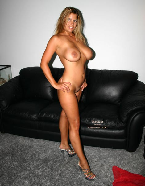 Pic #9 - Nikki Red Lingerie And Tanlines