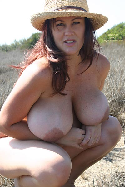 Pic #1 - Giant Tits - Huge Tits, Large Aerolas, Large Breasts , Nice Hat, Large Breast, Beautiful Large Breasts, Fully Packed, Round Mounds, Pendulous Breasts, Huge Beautiful Tits, E Cup, Jug Girl, Curly Hair