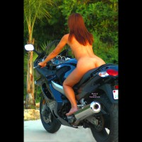 Naked Girl On A Bike - Naked Girl, Nude Amateur