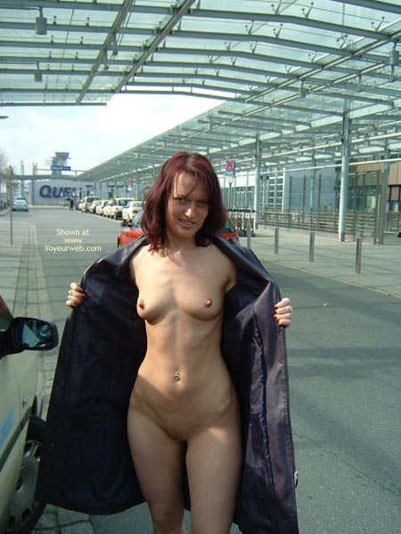 Pic #1 - Exhibitionist Nude Flash - Exhibitionist, Flashing, Long Hair, Nude In Public, Red Hair, Naked Girl, Nude Amateur , Open Black Coat, Flashing Pussy, Redhead Walking, Coat Open, Traveling Light, Nude Girl Under Coat, Nothing To Hide, Long Coat Flasher, Public Nude, Flashing Tits