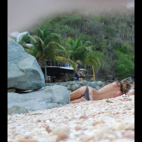 Topless In Caribbean