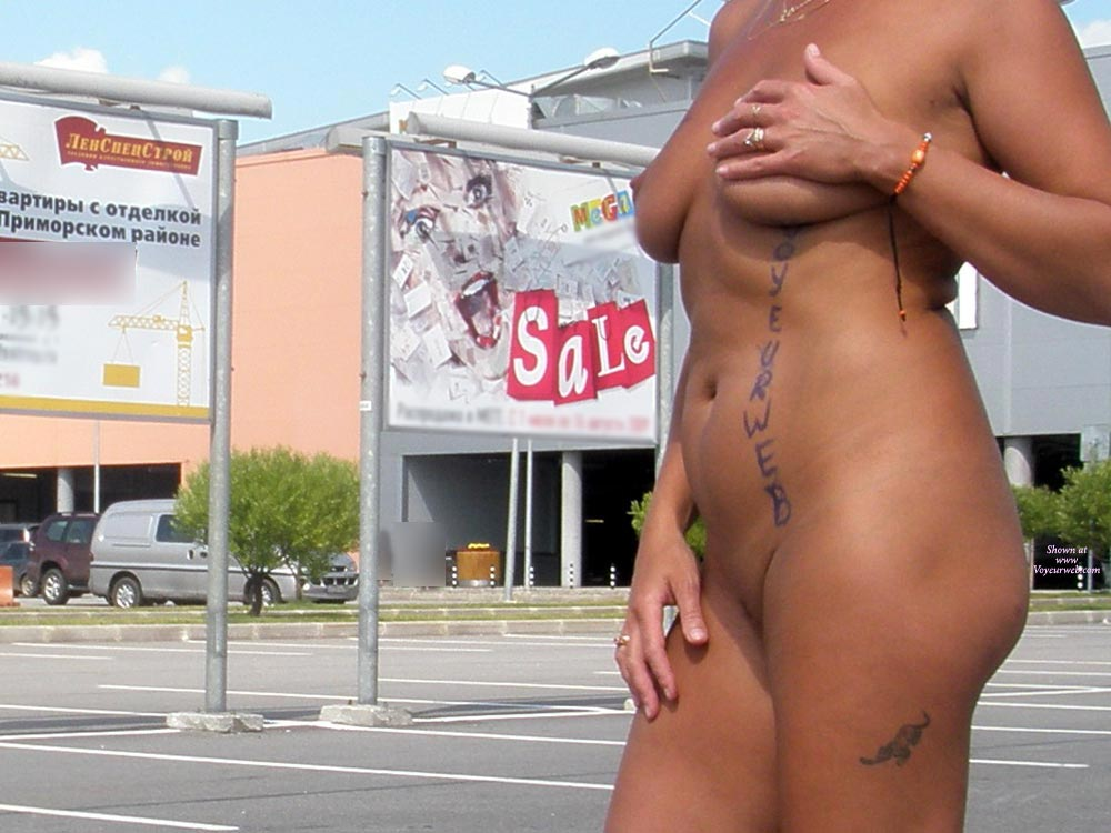 Pic #1 - Voyeurweb On Skin Exhibitionist - Exhibitionist, Nude In Public, Naked Girl, Nude Amateur , Nude In Parking Lot, Innovations In Advertising, Walking Billboard, Outdoors In Public, Nude Stroll, Nude In A Shopping Mall Carpark, Suntan In Public