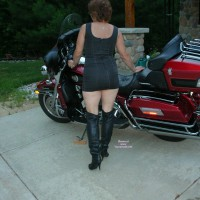 54 Year Old Harley Milf