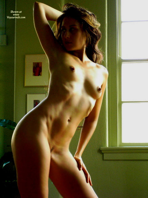 Pic #1 - Nude Erotic Wife - Brunette Hair, Erect Nipples, Landing Strip, Naked Girl, Naked Wife, Nude Amateur, Nude Wife, Sexy Wife , Right Arm Up With Hand Behind Head, Erect Long Nipples, Tight And Toned Body, Impressive Nipples, Tight Body, Window Light & Shadows, Flat Stomach, Hand Behind Head