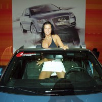 Devil At Car Exibition