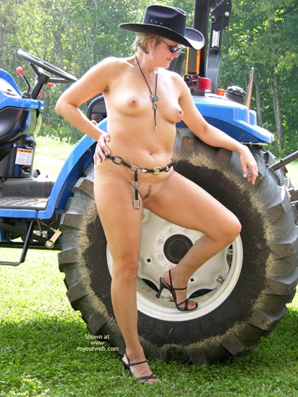 Pic #2 - Tractor Time
