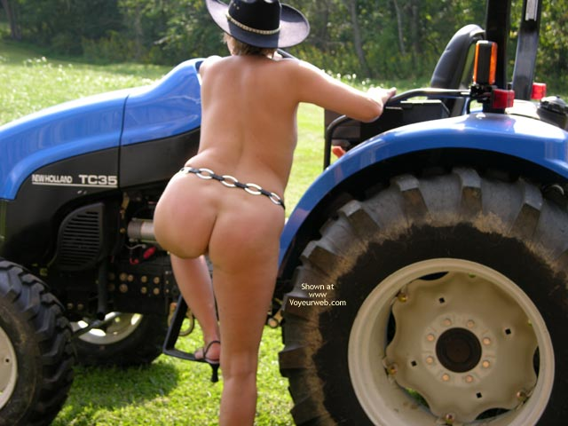 Pic #4 - Tractor Time