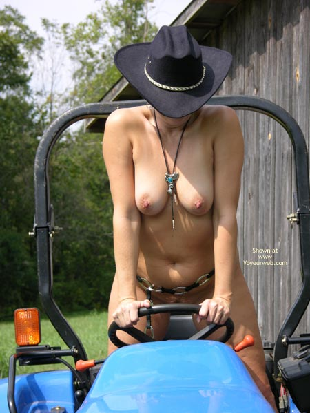 Pic #6 - Tractor Time