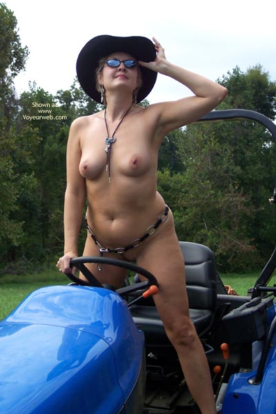 Pic #7 - Tractor Time