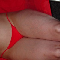 Nude Sweety Red Thong