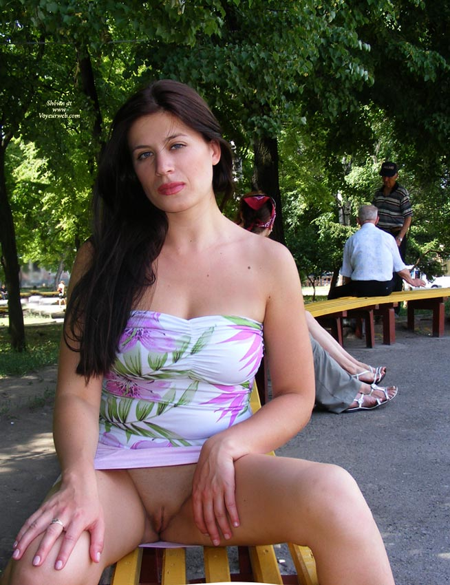 Brunette Bottomless Flashing In Public With People In Background - Bottomless, Brown Hair, Brunette Hair, Exhibitionist, Flashing, Long Hair, Red Hair, Shaved Pussy, Hairless Pussy, Pussy Flash , Both Sets Of Lips Visible And Hot, Sitting On Bench In Park Flashing Pussy, Puffy Lips, Bench Beaver, Public Coin Slot, No Hair, Park Pose Showing Pussy, Pouting Clam, Red Lips