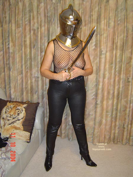 Pic #4 - Tigerlady, Leather And Steel