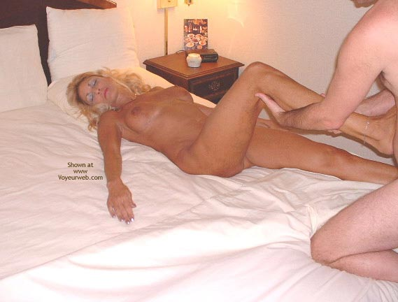 Pic #5 - Sasha Gets A Massage From The Hotel'S Masseur