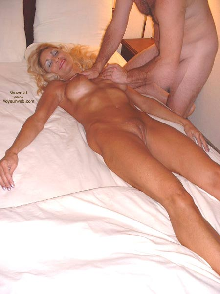 Pic #6 - Sasha Gets A Massage From The Hotel'S Masseur