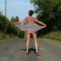 *PL Kate Without Panties Outdoor - 1
