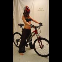 Amanda Getting Ready To Take A Ride! 2