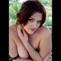 Boob Slip - Big Tits, Brown Eyes, Topless, Sexy Boobs, Sexy Face