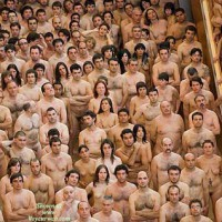 Nudism Concentration In Euskadi