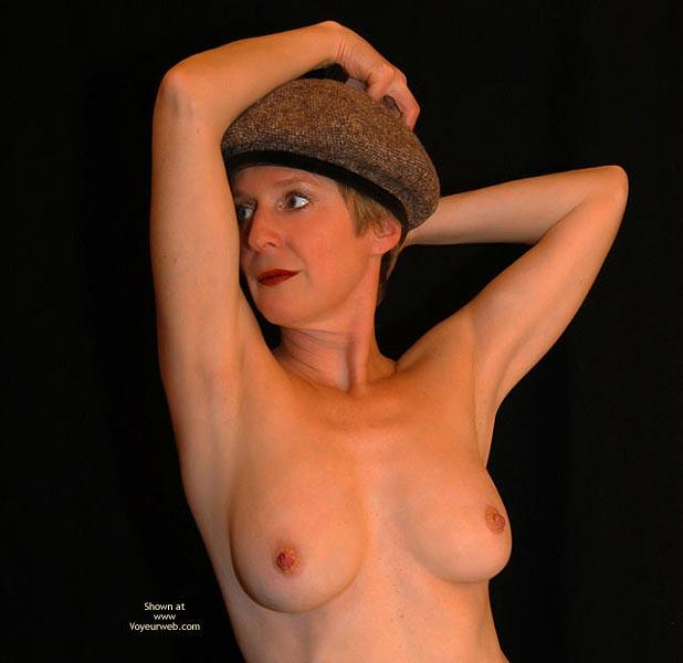 Pic #1 - Mature - Hat, Mature, Topless , Mature, Topless Facial, Hat