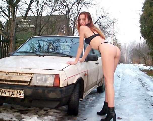 Pic #2 - Alexandra Nude in Russian village