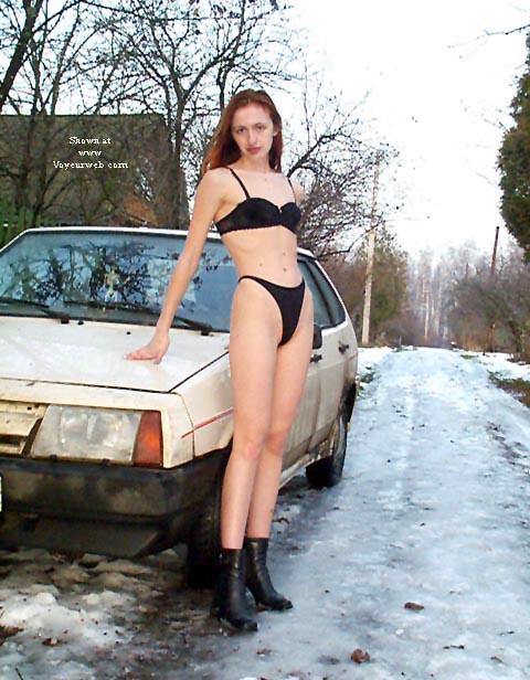 Pic #4 - Alexandra Nude in Russian village