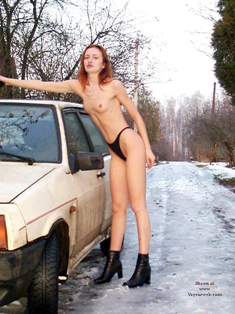 Pic #6 - Alexandra Nude in Russian village