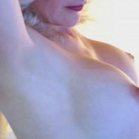 Closeup Tits - Blonde Hair, Erect Nipples